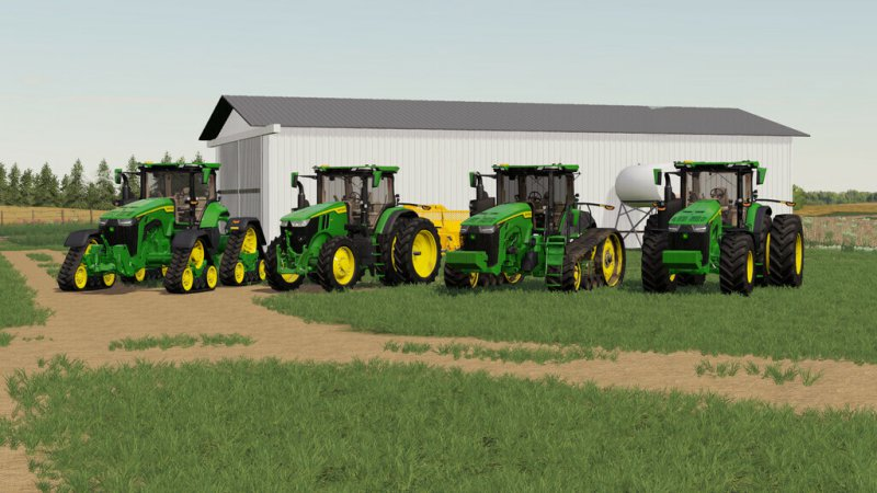 John Deere 7R, 8R, 8RT, 8RX 2020 US-Version v1.0.0.1