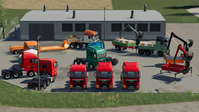MAN TGX Semi-Truck Pack