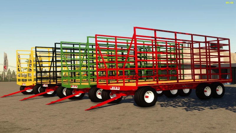 Miro small square bale trailer