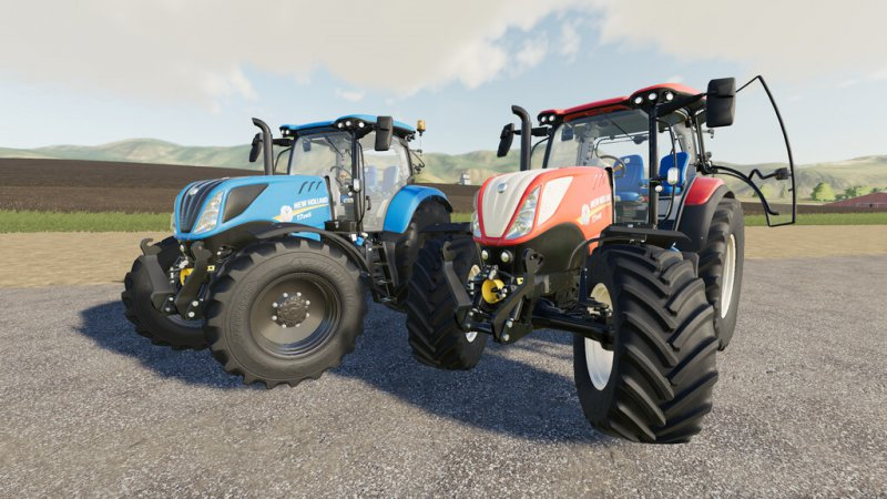 New Holland T7S Series