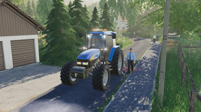 New Holland TM 7020